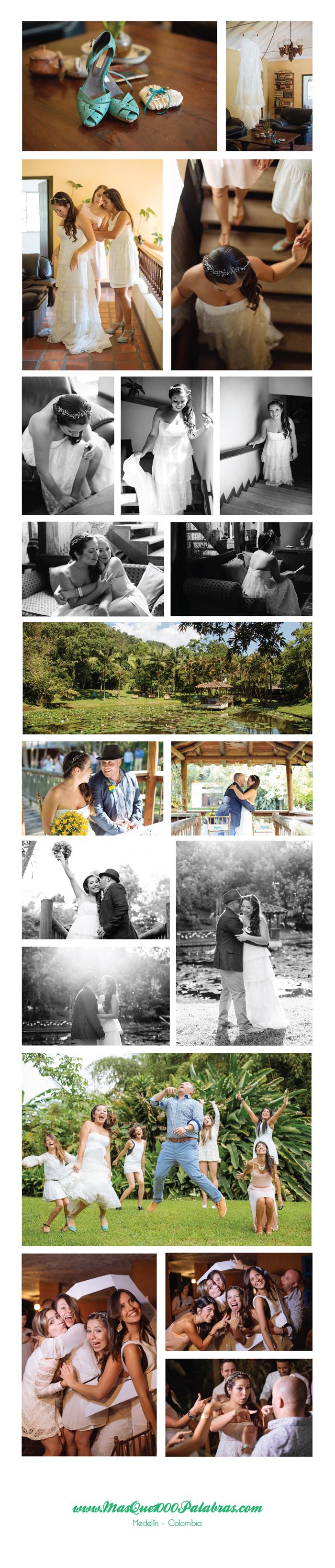 Fotos boda Poli y Dani Medellin
