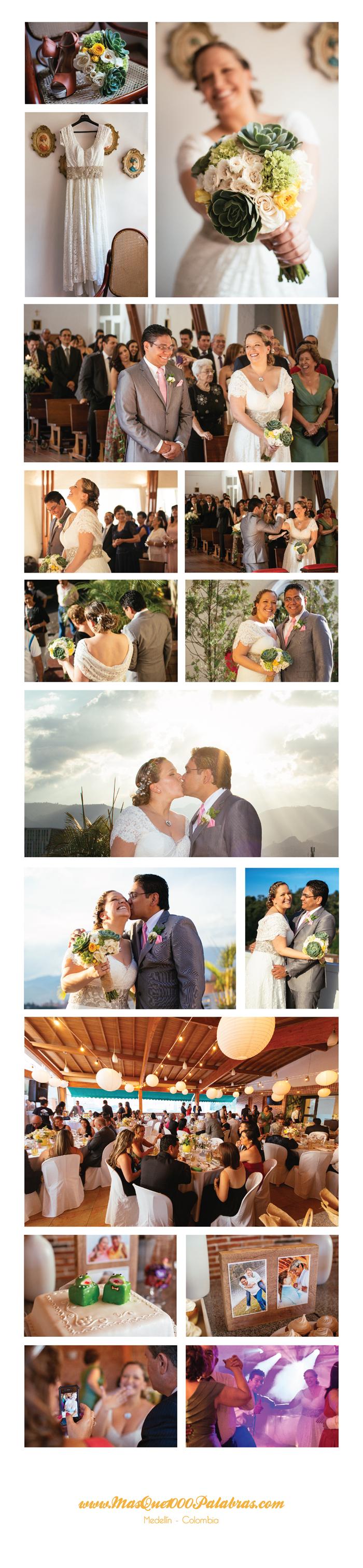 fotografias de la boda de juli y pipe en medellin