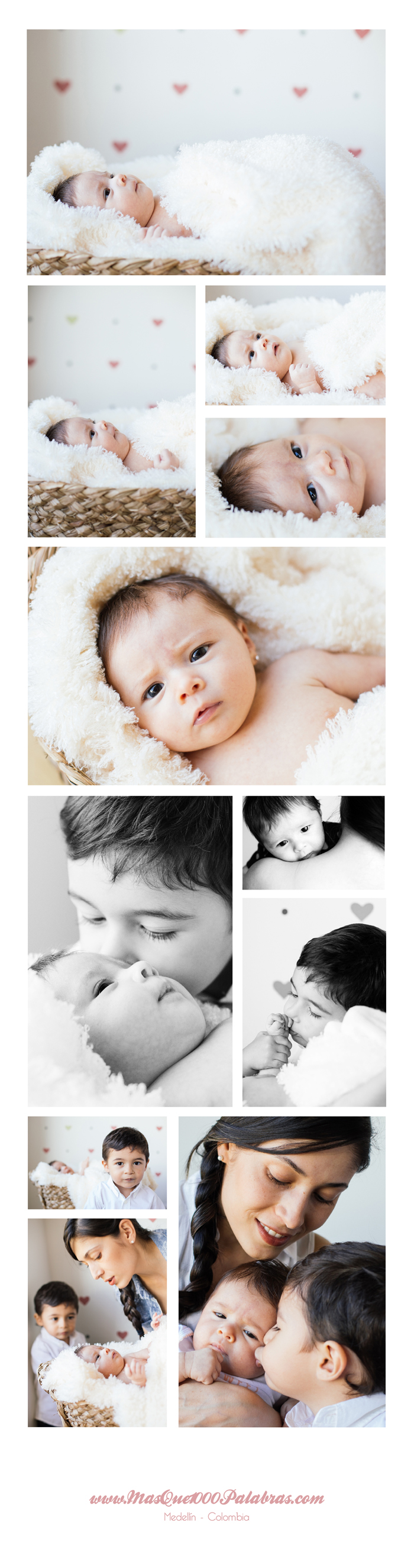 sofia, bebe, newborn, recien nacida, fotografia, hogar, familia, hermanitos